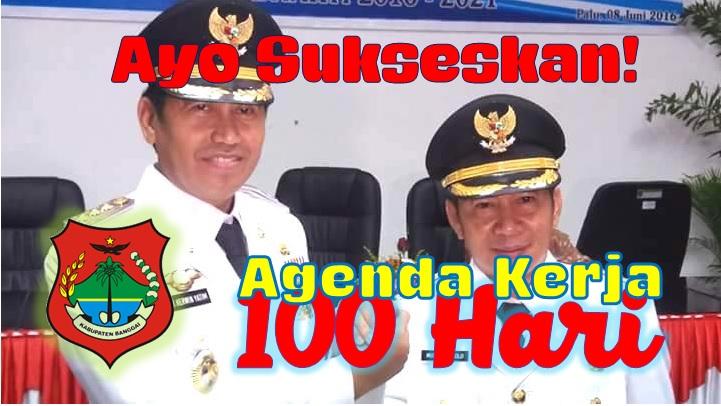 Rapat Evaluasi Agenda Kerja 100 Hari