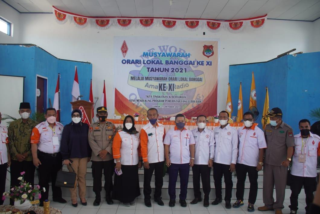 Alfian Djibran Pimpin Orari Banggai, Organisai Wajib Sukseskan Program Vaksinasi