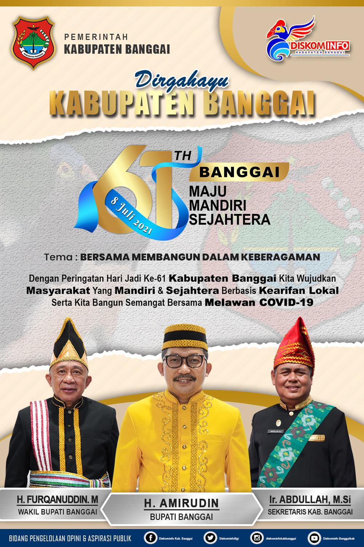 Dirgahayu Kabupaten Banggai